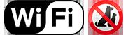 Wifi gratis | No mascotas