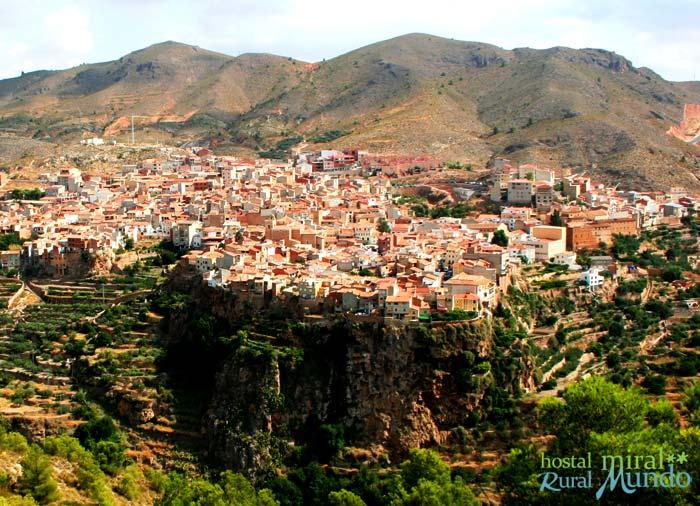 Qué visitar en Liétor - Vista panorámica - Sierra de Albacete