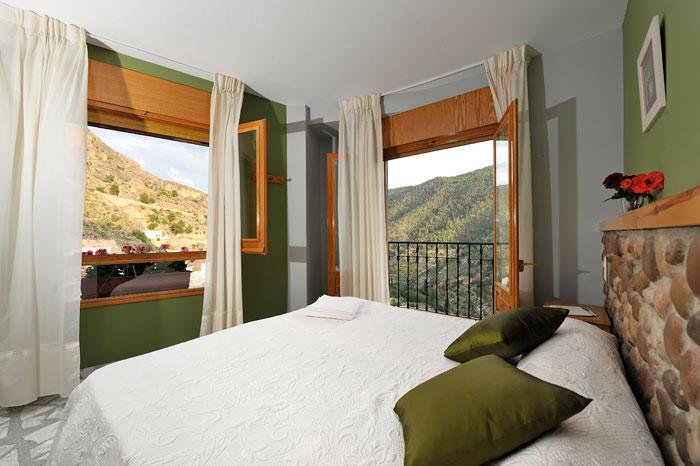 habitación doble hostal rural Miralmundo