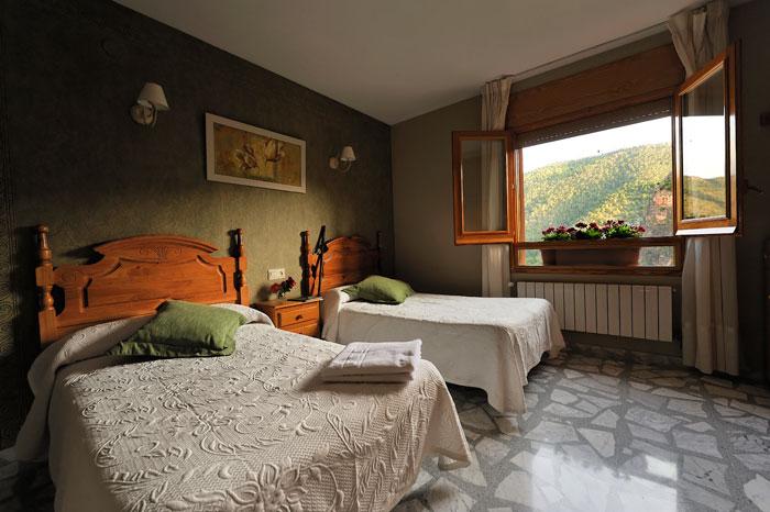 habitació doble Hostal Rural Miralmundo