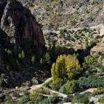 Vista panoramica de Ayna y el Río Mundo