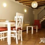 Salón comedor - Apartamento Rural
