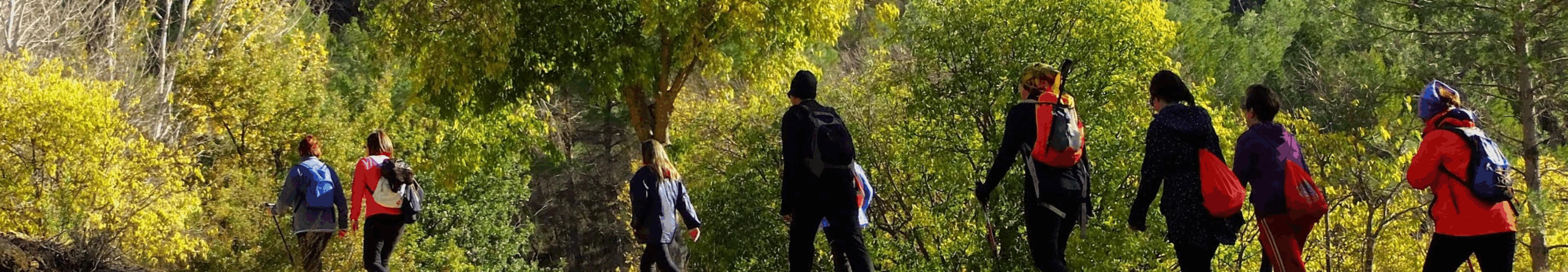Rutas de senderismo, BTT y trail <span> en la Sierra de Albacete </span>