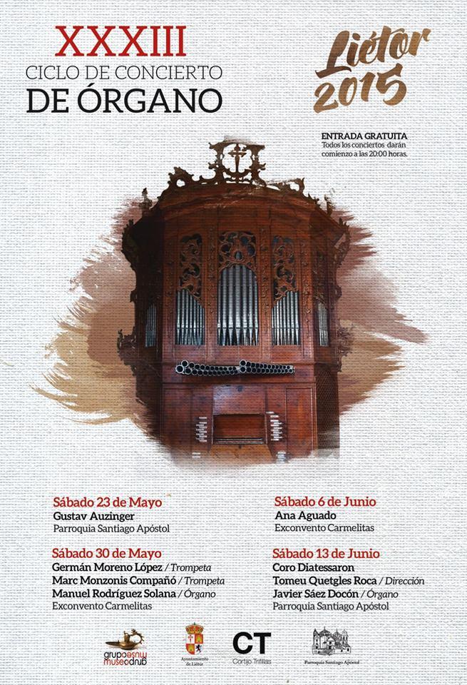 LIETOR - Concierto Organos 2015