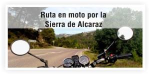 Rutas en moto por la Sierra de Alcaraz