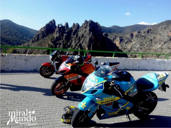 Rutas en moto por Albacete