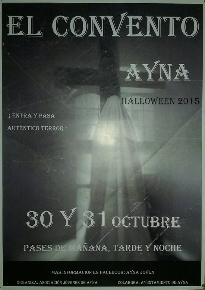 El convento del terror - Halloween en Ayna