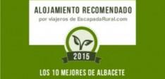 Somos uno de los 10 alojamientos más recomendados de Albacete