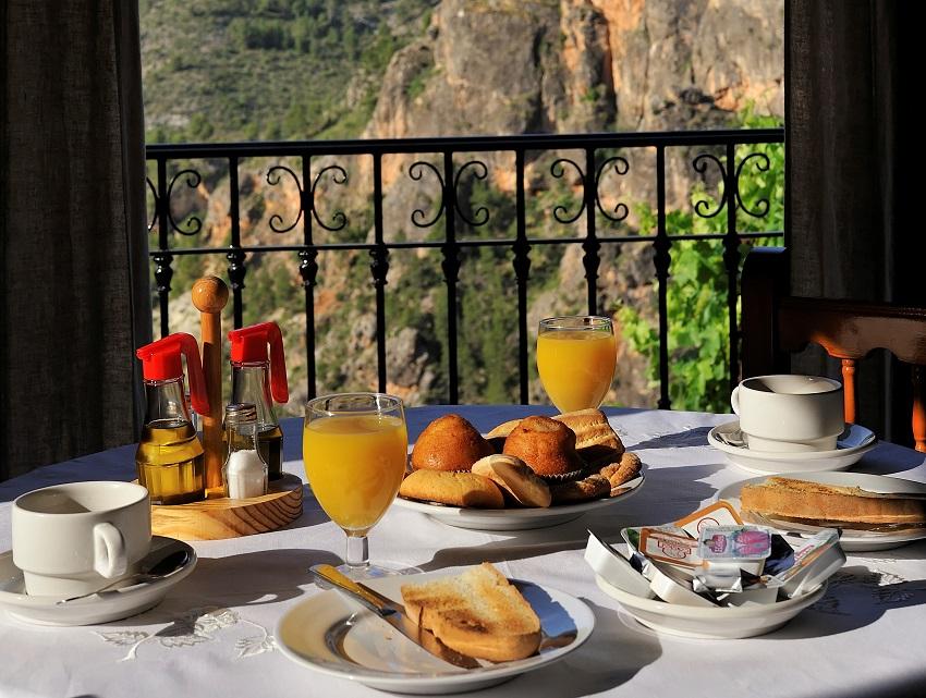 Desayuno en Miralmundo