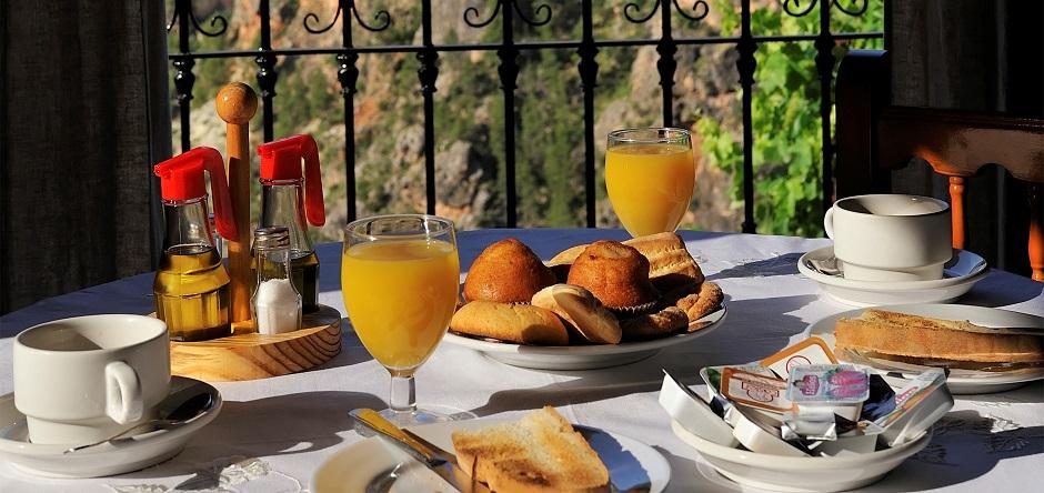 Desayunos con vistas en Miralmundo