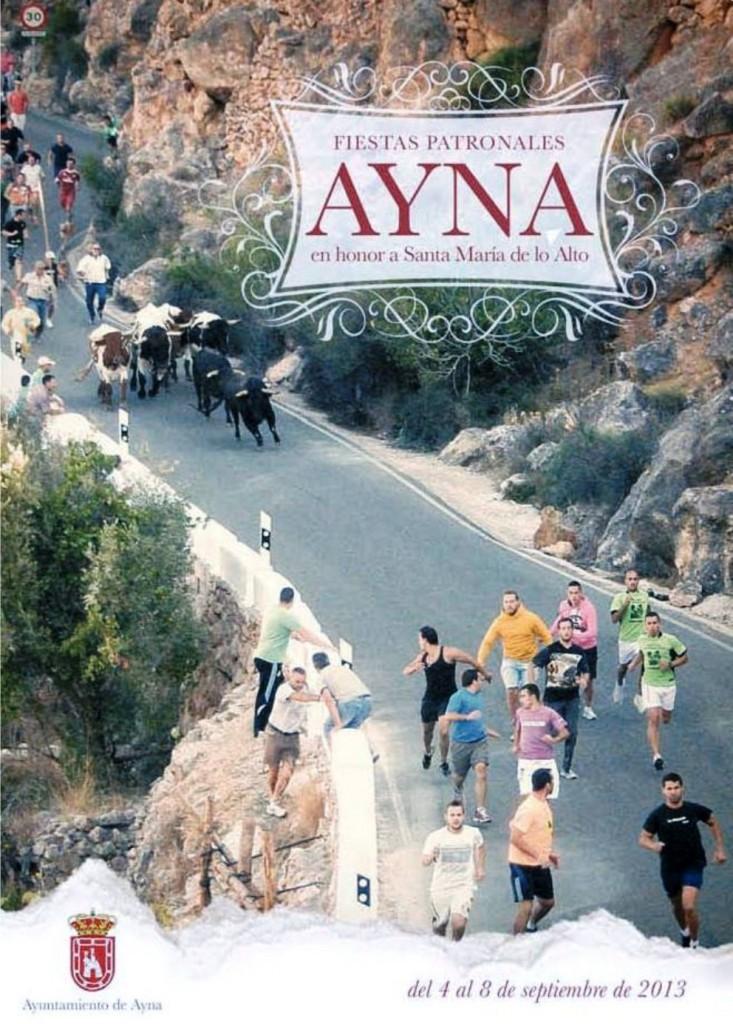 Portada Programa fiestas Ayna 2013