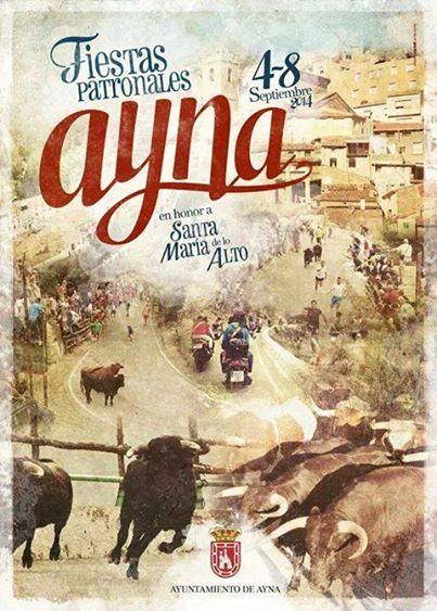 Programa Oficial Fiestas de Ayna 2014
