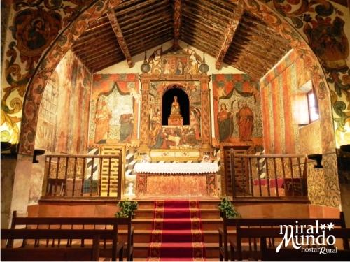 Ermita de Belén de Liétor, escenario de la iglesia de Amanece, que no es poco - Sierra de Albacete