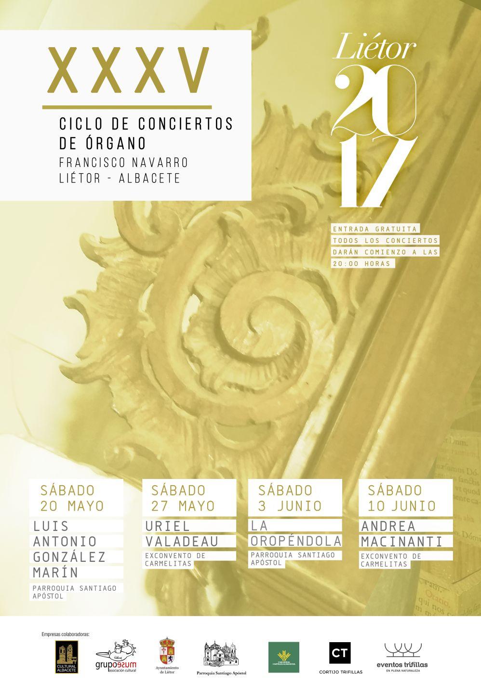 XXXV Ciclo de Conciertos de ÓRGANO de Liétor