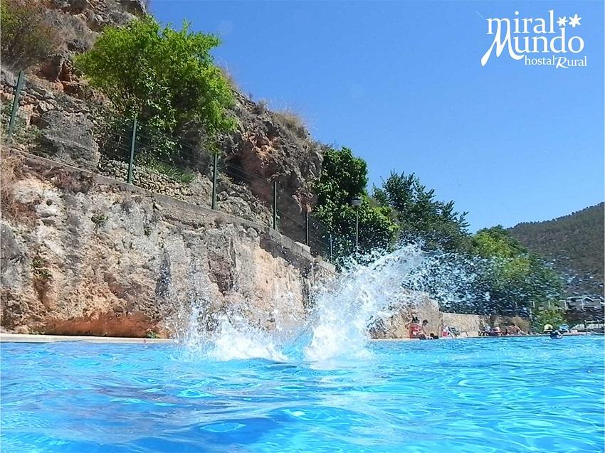 Playa y monta a miralmundo hotel rural albacete for Piscina municipal albacete