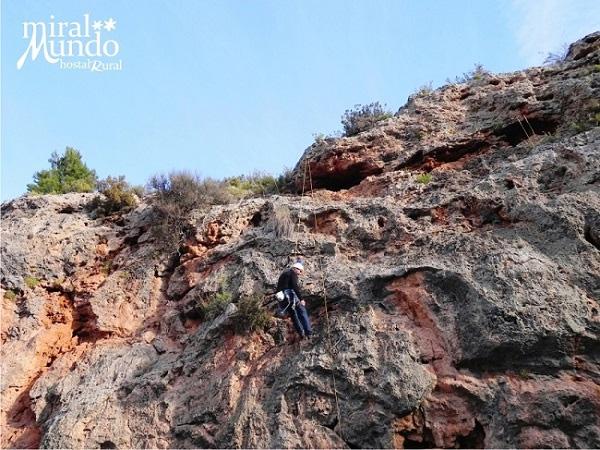 Miralmundo - Escalada en Aýna