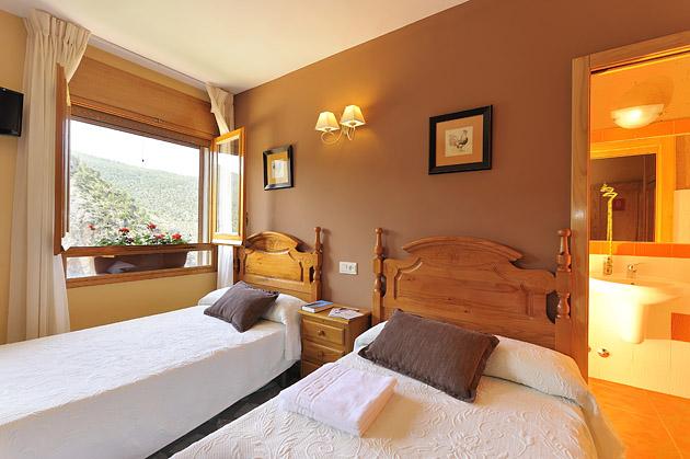 Habitación triple o familiar - MIralmundo hotel rural en Aýna Albacete