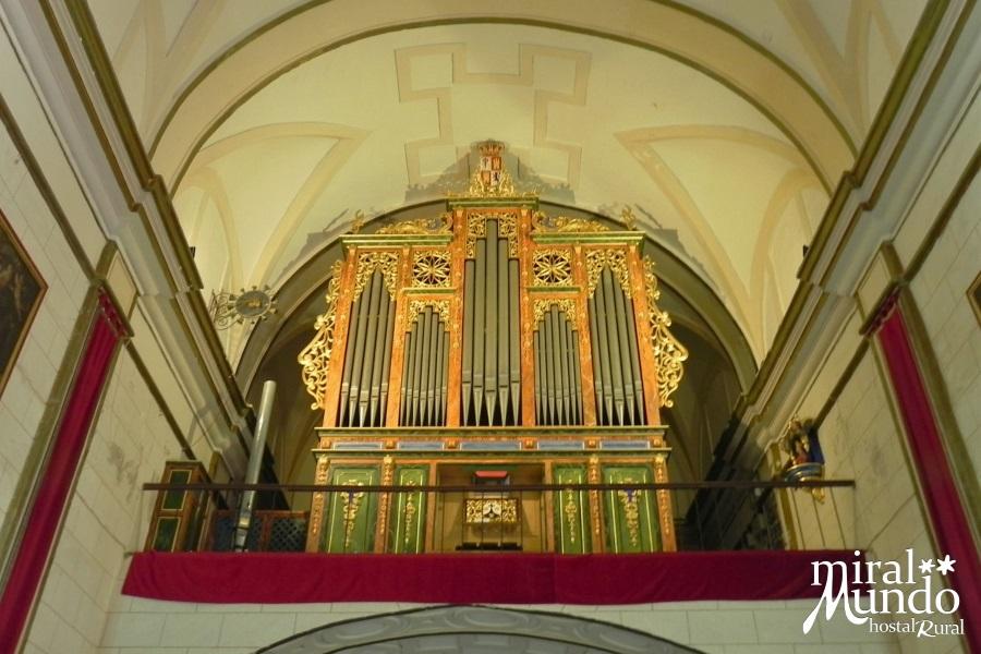 LIÉTOR-Exconvento-Carmelitas-Descalzos-Organo - Miralmundo