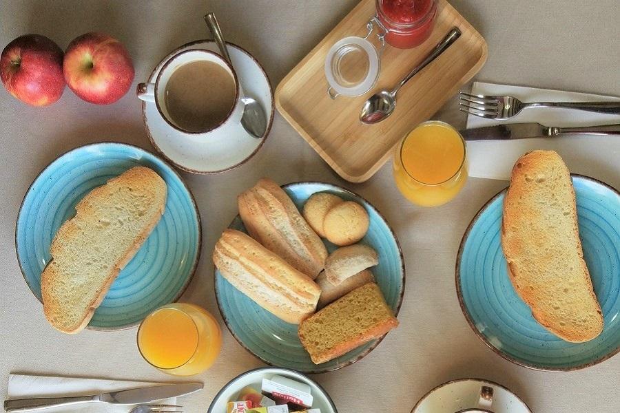 Miralmundo desayuno con vistas