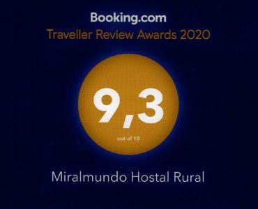 Booking da un sobresaliente a Miralmundo Hostal Rural en Aýna