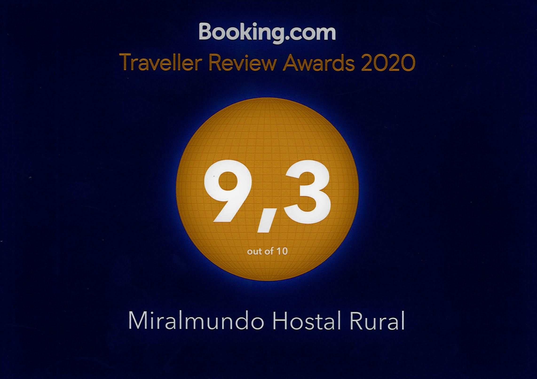 Los clientes de Booking dan un sobresaliente a Miralmundo Hostal Rural