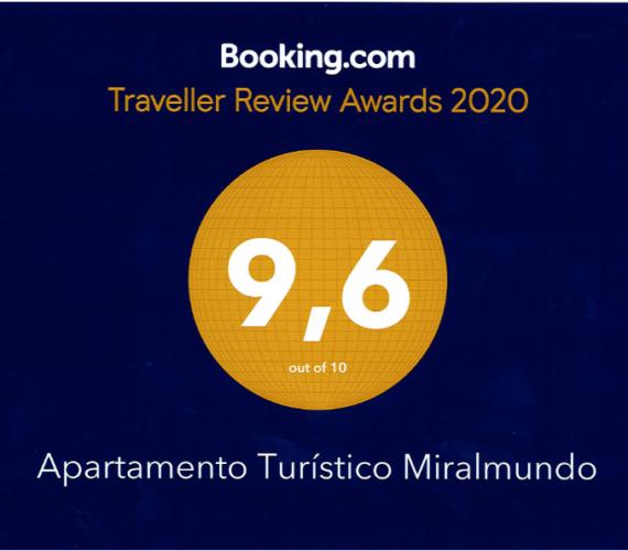 Nuestro Apartamento Turístico recibe un sobresaliente por los clientes de Booking.