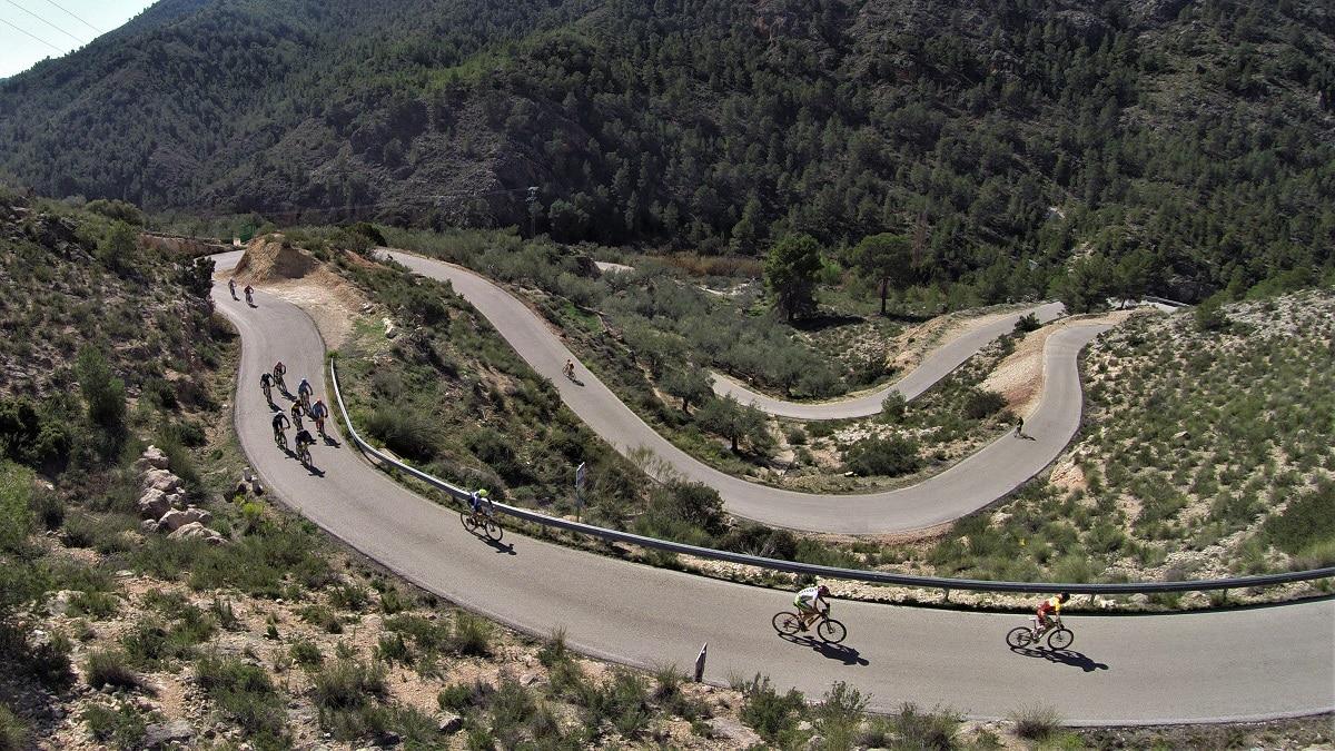 Ciclismo de carretera en Aýna