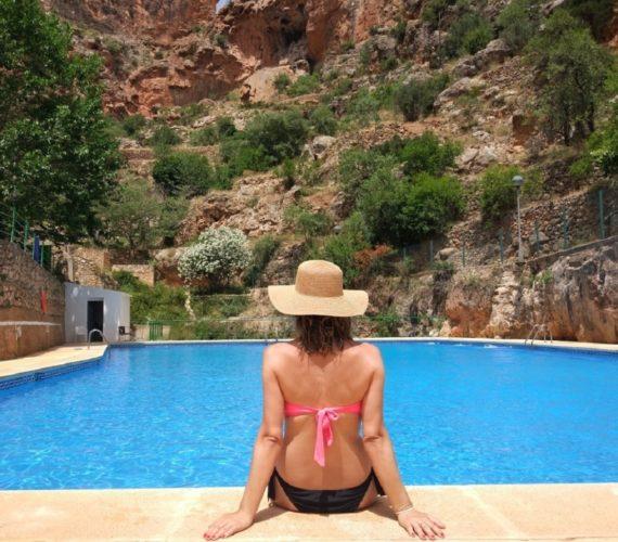 Alojamiento rural con piscina gratis