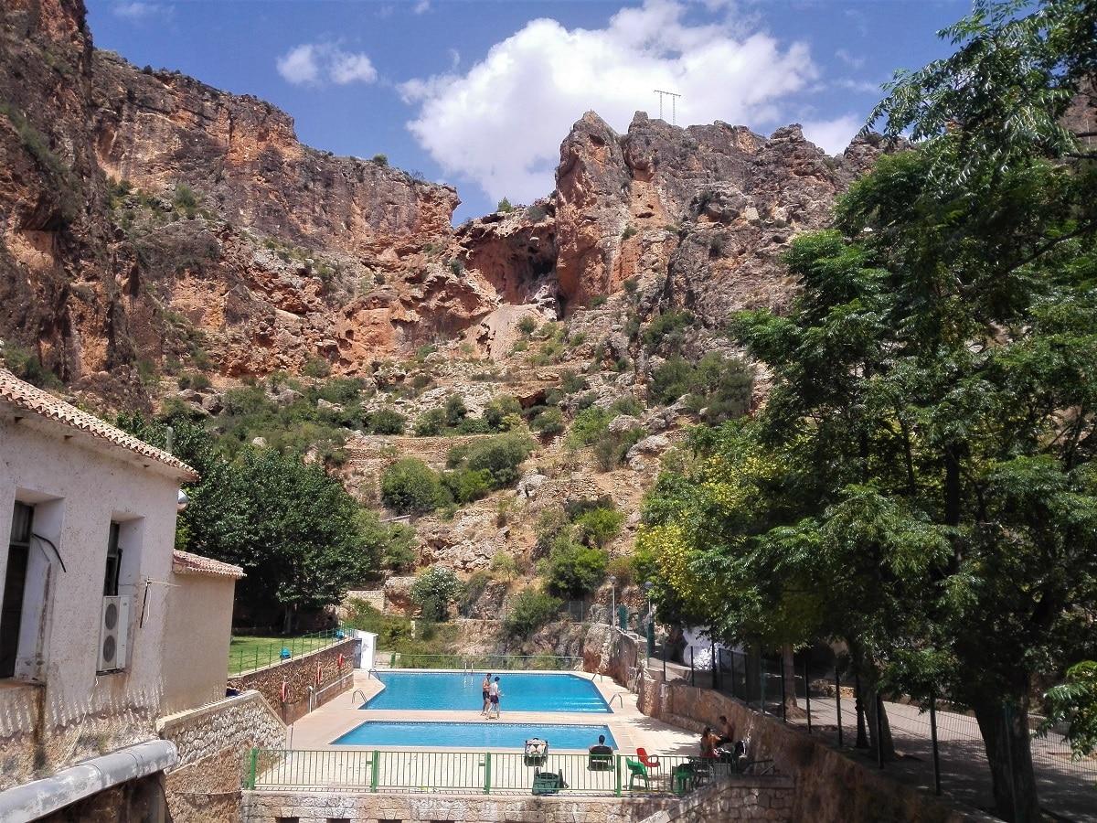 Alojamiento rural con piscina
