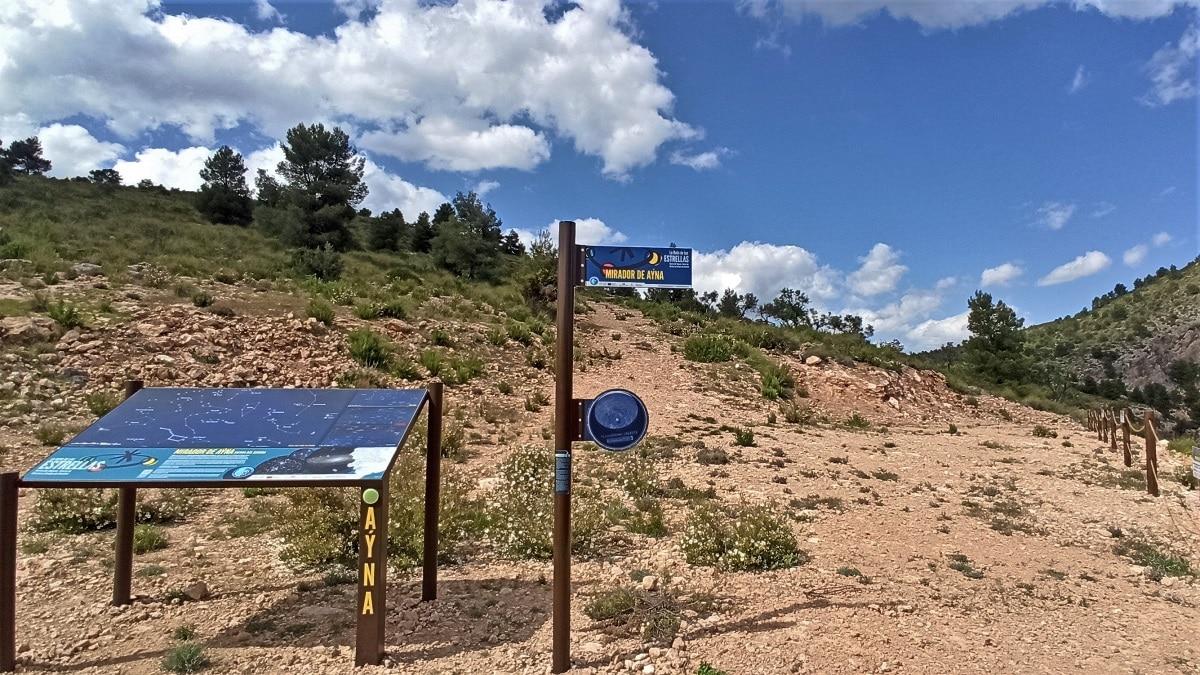Aýna municipio starlight de la Sierra del Segura